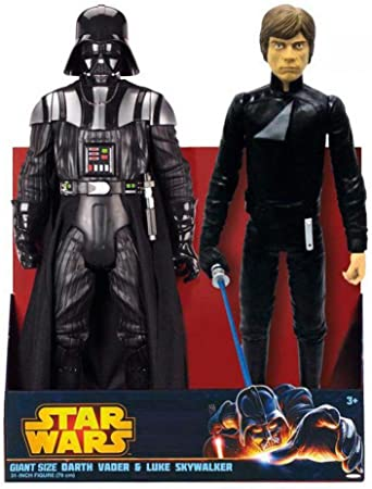 Jakks Pacific – Star Wars Darth Vader/Luke Pack de 2 Figuras ...