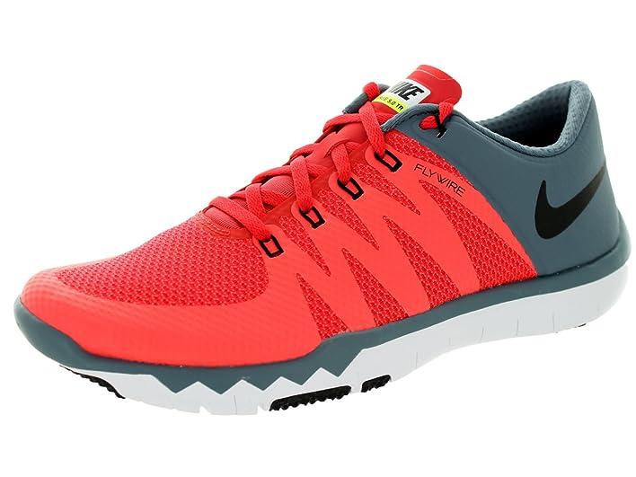 Nike Free Trainer 5.0 V6 Audacieux Robe Rouge