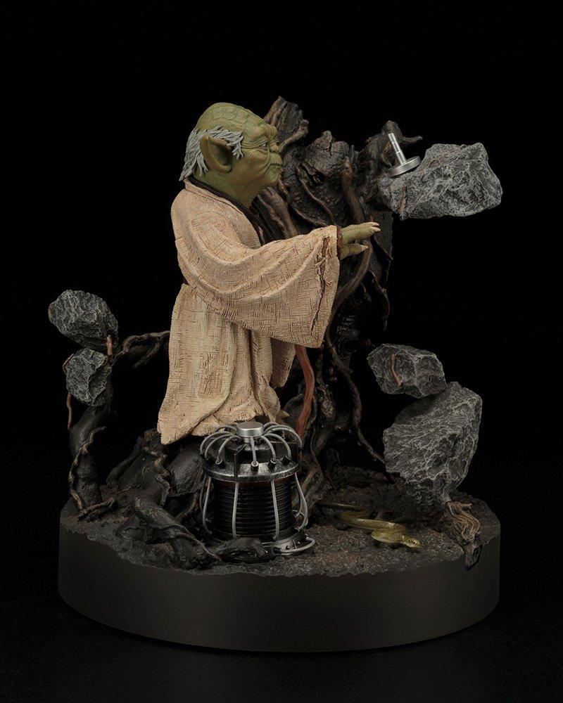 """/""""Das Imperium schl/ägt zur/ück/""""-Version Star Wars SW132/Artfx Yoda-Statue"""