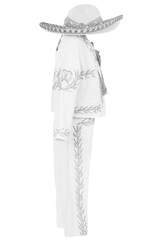 Amazon.com: Conjunto de traje de bautizo para niños de plata ...