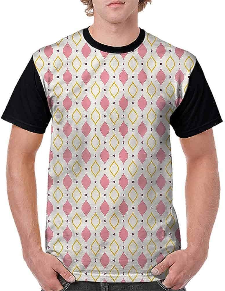 Performance T-Shirt,Little Purple Polka Dots Fashion Personality Customization
