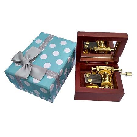 Paquete de regalo de madera manivela Caja de música - Harry Potter ...