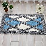 Household mats rectangular cushions kitchen/living room door mats absorbent mat -45*70cm a