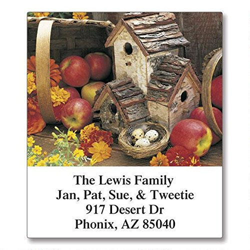 (All-Seasons Birdhouses Self-Adhesive, Flat-Sheet Select Address Labels by Colorful Images (12 Designs), Count 144)