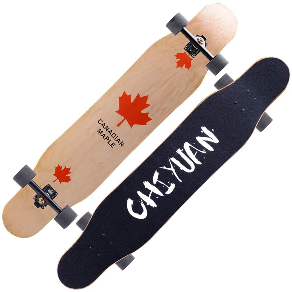 825028355ed3 B07MC4PCWD 四輪バランススクーター、男性と女性のロードスケートボード ...