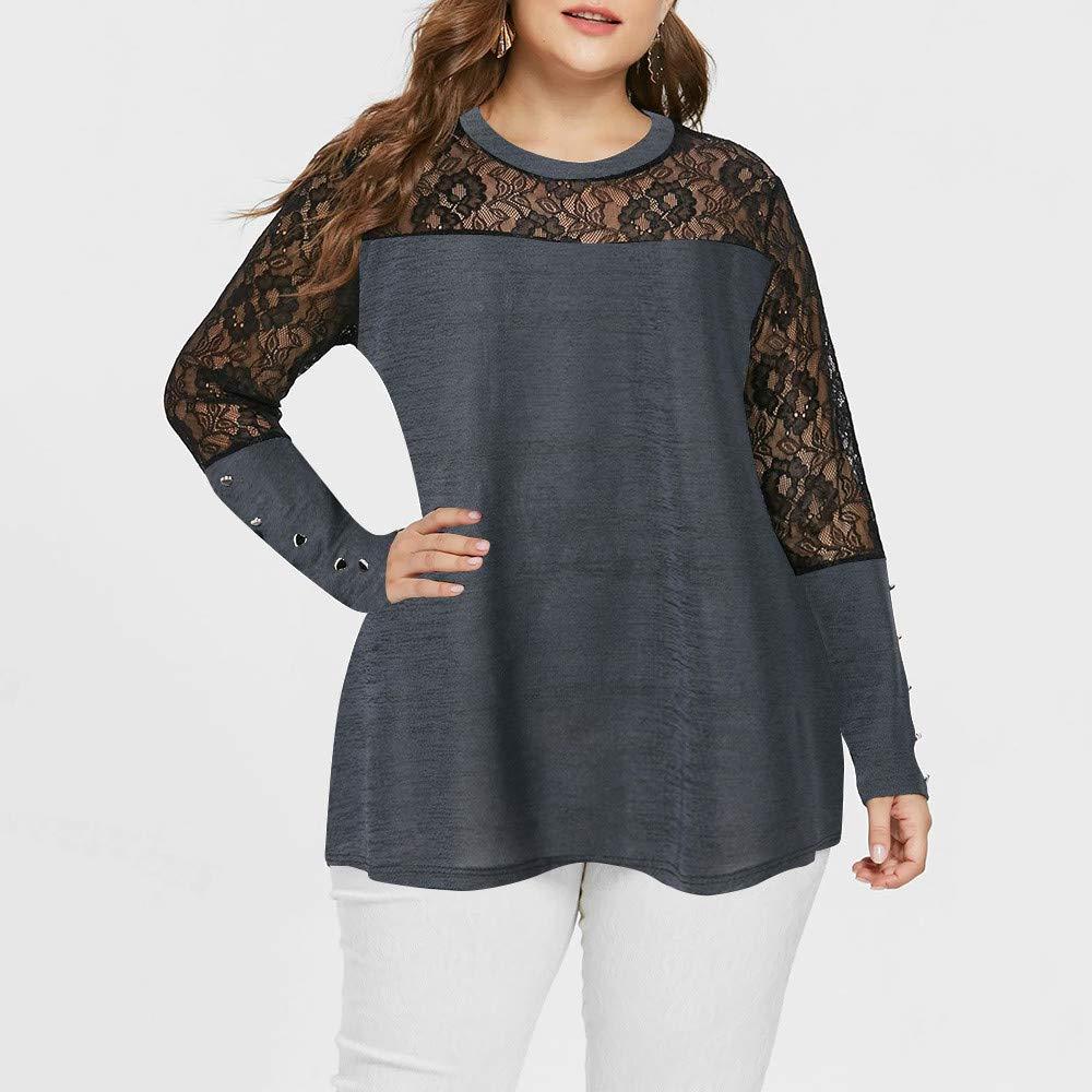 Blusa de Mujer, Manadlian Camiseta Atractiva de Las Mujeres Moda ...