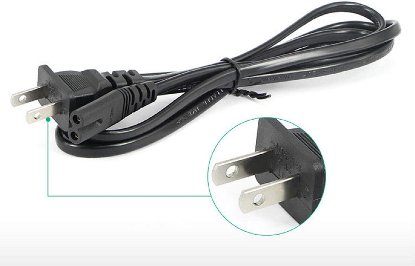 AC Power Cable Cord for Samsung UN46EH5000FXZA UN46D8000YFX UN46ES7500FX