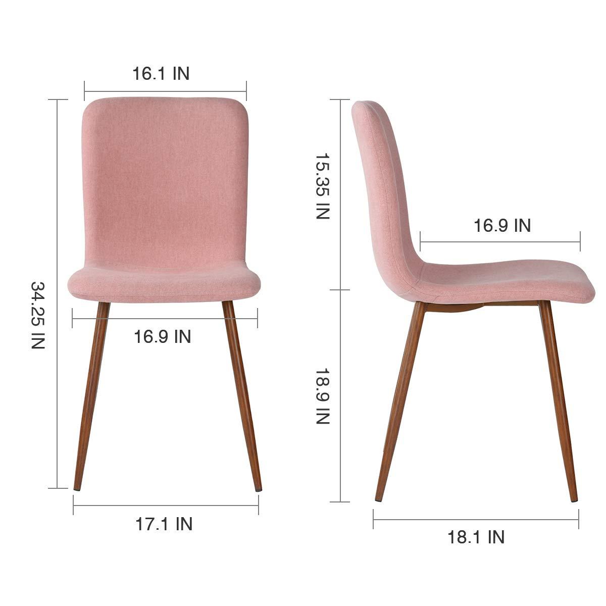 Amazon.com: Coavas juego de 4 sillas de comedor Eames ...
