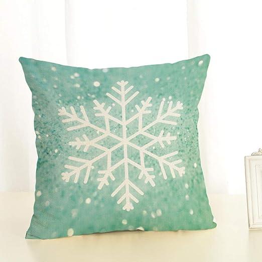 LIUWAN Nieve Almohada de algodón de impresión neumática de ...