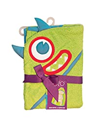 Sozo Monster Hooded Towel, Lime/Blue/Red, One Size, 1-Pack