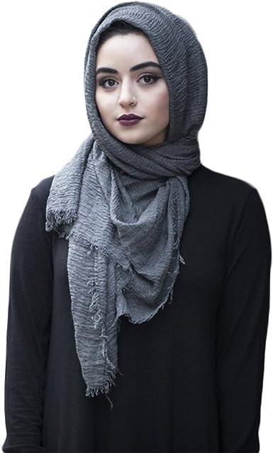 1x Muslim Style Long Soft Hijab Maxi Islamic Scarf Shawl Wrap Fashion Gift Women