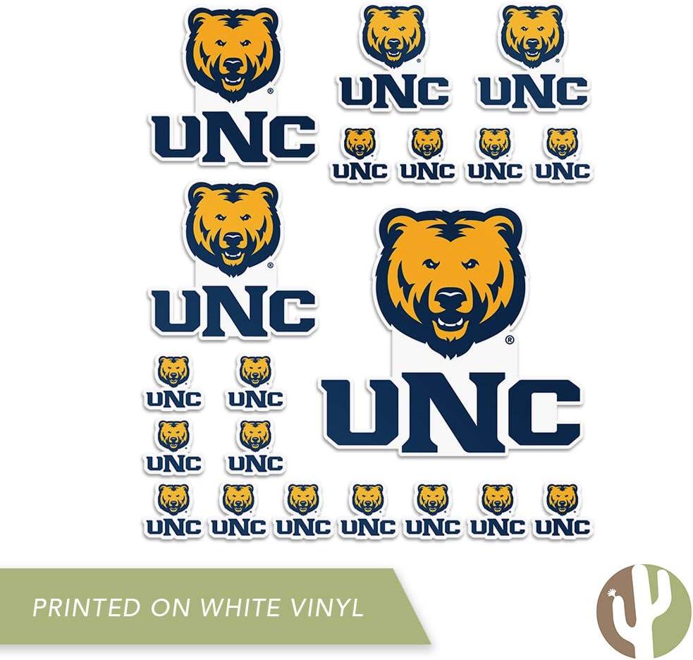 Sheet Type 3-1 University of Northern Colorado UNC Bears NCAA Sticker Vinyl Decal Laptop Water Bottle Car Scrapbook
