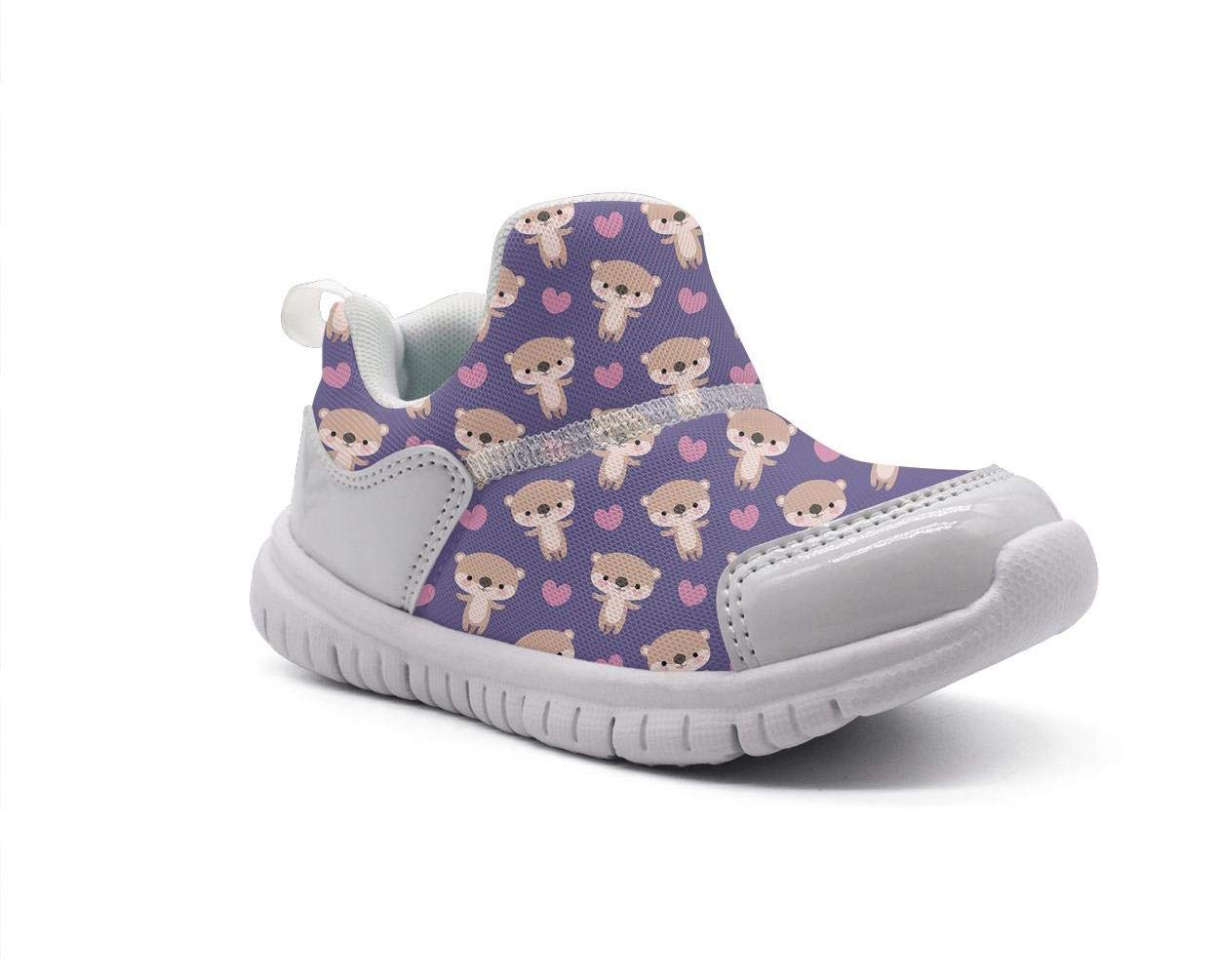 ONEYUAN Children Brown Bear Kid Casual Lightweight Sport Shoes Sneakers Running Shoes