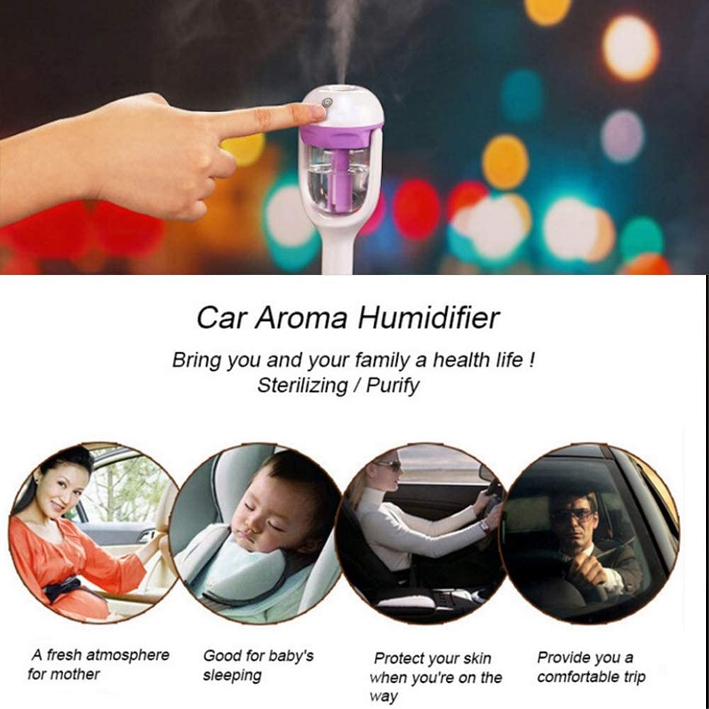 Humidificador para Coche difusor de Aceite Esencial MIGHTYDUTY aromaterapia