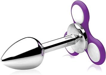 Frisky Light Up Fidget Spinner Butt Plug 139 g: Amazon.es: Salud y cuidado personal