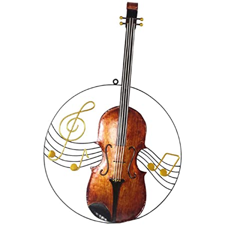 Violin Wall Art Decor Approximate Height 60cm: Amazon.co.uk: Kitchen ...