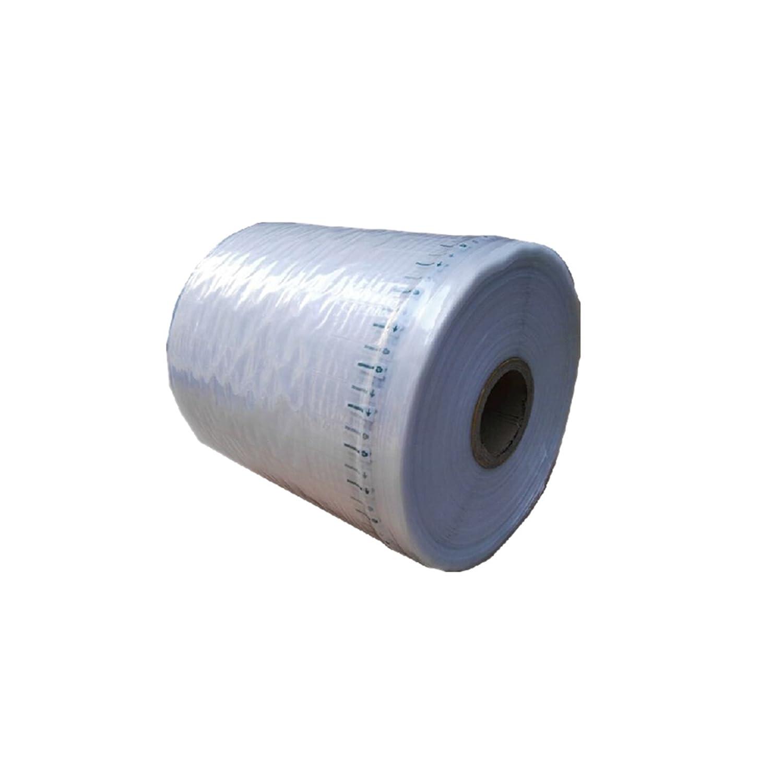 Rotolo di sacchetti pluriball, in colonna, gonfiabili ad aria, per imballaggio del materiale, da 20 cm, 30 cm, 35 cm, 40 cm, lungo 50 m 20 cm HMGTUK HM-01