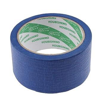 Powlance - Cinta adhesiva de papel resistente al calor para ...