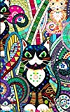 Cat Notebook: Presents / Gifts for Cat Lovers [ Ruled Softback Notebook / Small Journal - Carnival ] (Animal Stationery)