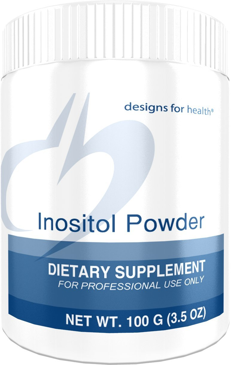 Designs for Health - Inositol Powder - 700mg, Mood + Relaxation Support, 100 Grams