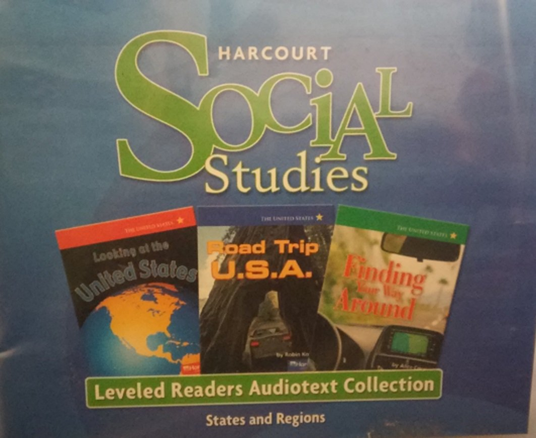 Harcourt Social Studies: Leveled Reader Audiotext CD Collection Grade 4 States and Regions by HARCOURT SCHOOL PUBLISHERS