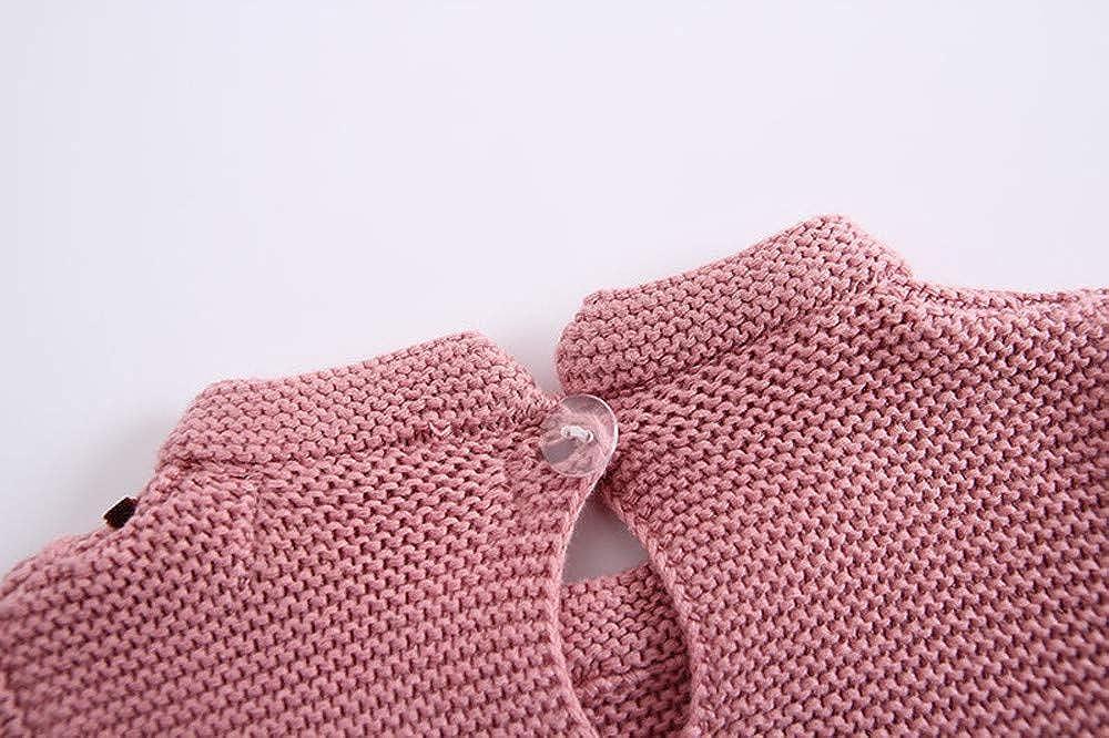 Amazon.com: Kimanli Toddler Baby Sweaters, Boys Girls Bow Crochet Knit Romper Sweatshirt Sweater Top: Clothing