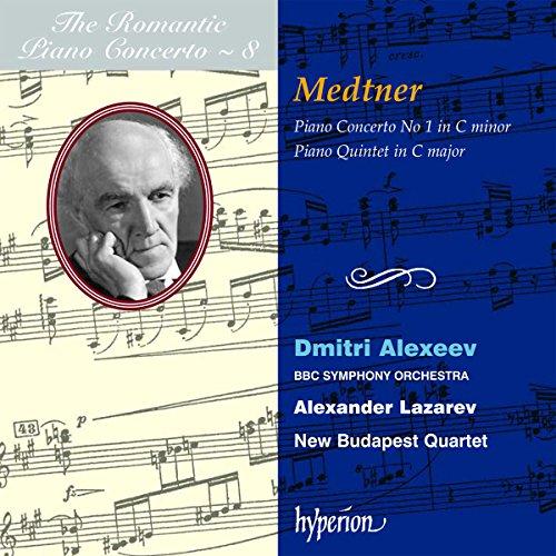 - Romantic Piano Concerto, Vol. 8 / Medtner: Piano Concerto, No. 1 / Piano Quintet