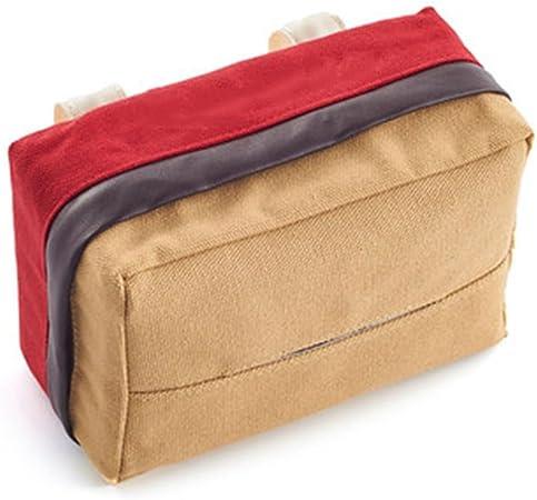 SryWj Clínex Kleenex Caja del Libro del Coche Coche Visera del Sol Techo Corredizo Caja De Pañuelos Caja del Libro del Coche Colgante Suministros del Coche Creativo: Amazon.es: Hogar