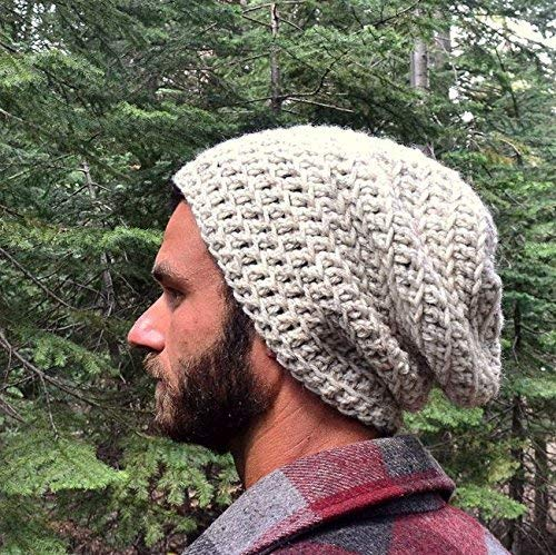 Hand Crochet Slouchy Snood Hat (11 Colors Available) - DeluxeAdultCostumes.com