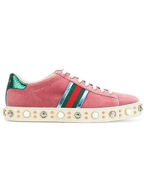 GUCCI - Zapatillas de Gimnasia Mujer, Rosa (Rose), 39: Amazon.es: Zapatos y complementos