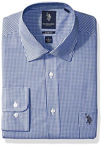 Blue White Check Shirt - 7