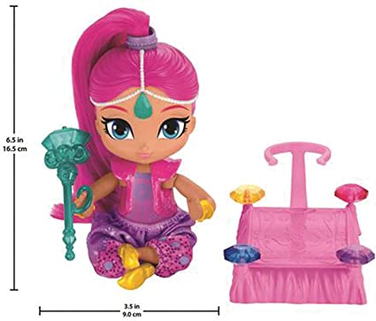 4bc276059 Image Unavailable. Image not available for. Color: Fisher-Price Nickelodeon  Shimmer & Shine, Floating ...