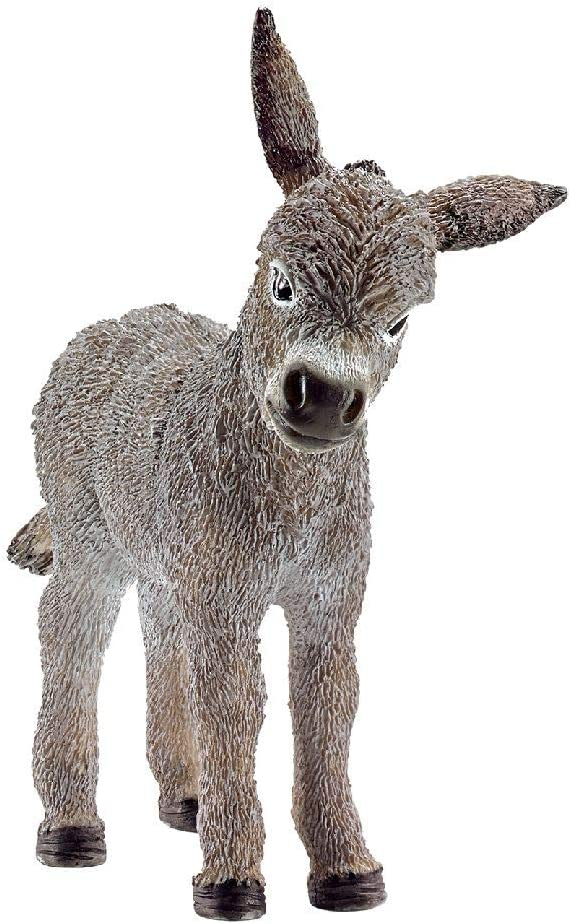 Schleich-13746 Borriquillo, Color Gris (13746)