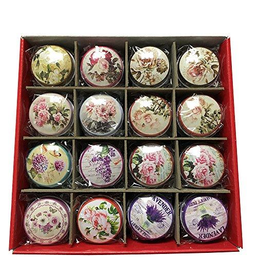 Vintage Mini Cosmetics Jewelry Tinplate Case Gift Tin Box Ca