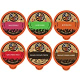 Crazy Cups Flavored Hot or Iced Coffee, for the Keurig K Cups 2.0 Brewer, Dessert Lover's Variety Pack, 24 Count