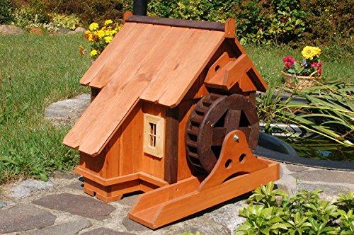 Schöne Wassermühle Wassermühlen ++imprägniert++massiv++