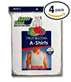 Amazon Price History for:Fruit of the Loom Men's A-Shirt (Pack of 4)