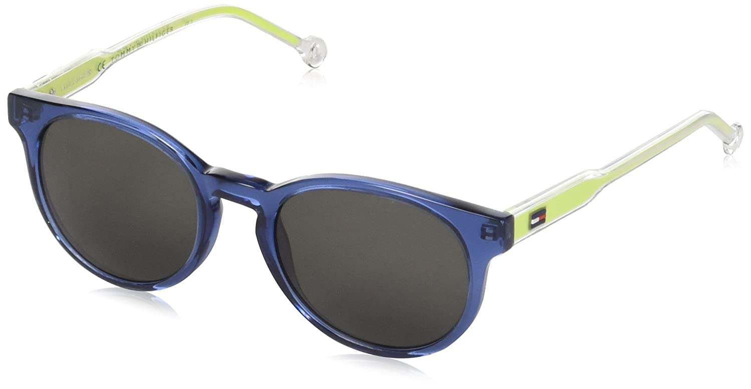 Tommy Hilfiger TH 1426/S NR Gafas de sol, Blue Crystal, 48 Unisex-Adulto