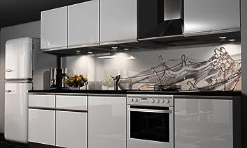 Küchenrückwand-Folie selbstklebend | Sekt-Gläser | Klebefolie in ...