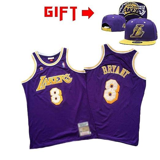 HWHS316 Los Angeles Lakers # 8 Kobe Bryant Uniformes De Baloncesto ...