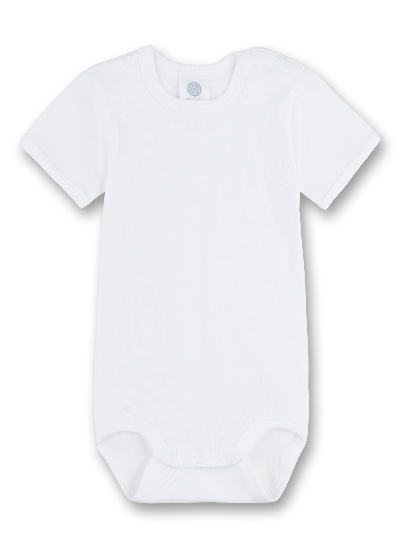 e0715548a061 Sanetta 320500 - Body kurzarm, Basic Collection, Organic Cotton weiss  product image