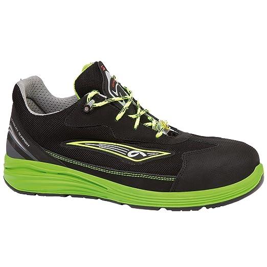 Giasco - Calzado de Protección para Hombre Multicolor Negro/Verde 45 EU XWqLpCoj2G