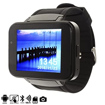 DAM - SMARTWATCH Phone DM86 con Android 4,4 Negro Alarma, Reproductor de Video, Calendario, calculadora, grabación de Voz, Email, escarga a través de ...