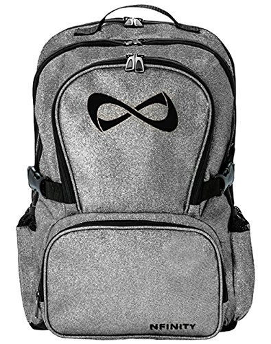 "Nfinity Sparkle Backpack Girls Glitter Bookbag | Perfect Bag for Travel, School, Gym, Cheer Practices | 15"" Laptop Compartment 