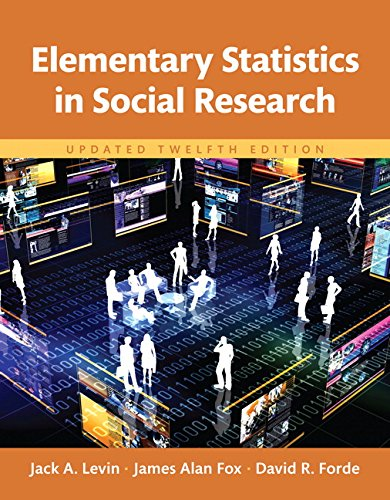 Book cover from Revel for Elementary Statistics in Social Research, Updated Edition -- Access Card (12th Edition) by Jack Levin