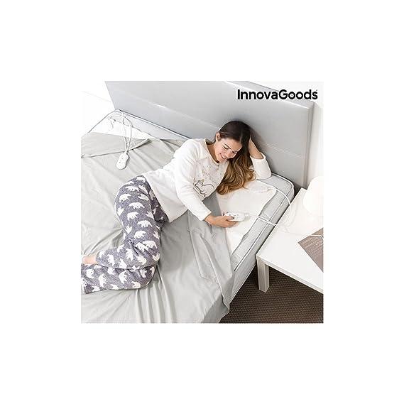 InnovaGoods IG114673 - Calientacamas electrico doble, 60 W: Amazon.es: Salud y cuidado personal