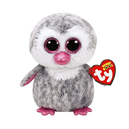 52d5fc747e4 Amazon.com  Ty Beanie Boos Olive - Penguin (Caire s Exclusive)  Toys   Games