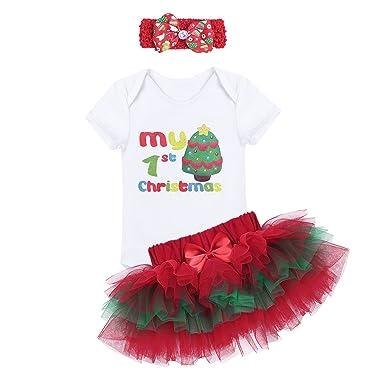 YiZYiF 3pcs Hada Infantil bebé niñas Primer cumpleaños ...