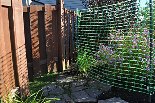 4' X 100' Dry Top Green Fence
