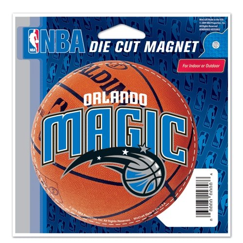 Orlando Magic Official NBA 4.5''x6'' Car Magnet by Wincraft by WinCraft